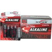 Батарейки Souser AA алкалиновые цена за 48 шт