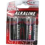 Батарейка Souser D LR20 алкалиновая цена за 24 шт