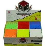 Кубик головоломка Cube 3x3x3 в виде ромбов 58 мм 6 шт/уп