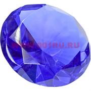 Кристалл «бриллиант» 10 см синий