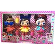 Игрушка Куклы Lol Surprise 3 шт с кружками