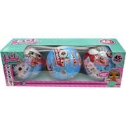Игрушка Кукла в шаре Лол Сюрприз 3 шт