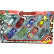 Машинки Avengers (Мстители) набор из 8 штук