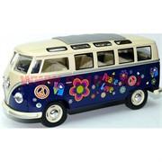 Автобус 1962 Volkswagen Classical Bus от Kinsmart 6 шт/уп