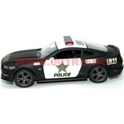 Машинка Ford Mustang GT Police от Kinsmart 12 шт/уп