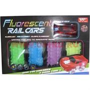 Машинка с дорогой Fluorescent Rail Cars