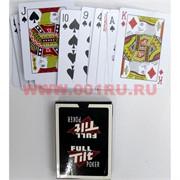 Карты игральные Full Tilt Poker пластиковые 144 шт/кор