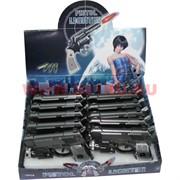 Пистолет зажигалка фонарик шокер с лазером 12 шт/уп