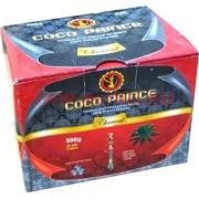 Уголь кокосовый для кальяна Coco Prince 500 гр кубики 25 мм