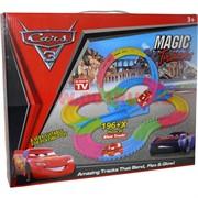 Magic Tracks светящаяся 196 + X деталей Cars 3