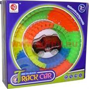 Noctilucent Track Car 80 деталей светящаяся с машинкой