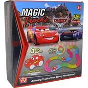 Magic Tracks светящаяся 166 деталей Cars 3
