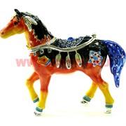 Шкатулка со стразами «Лошадь» (1293)