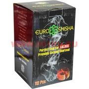 Уголь для кальяна Euroshisha для калауда 112 шт