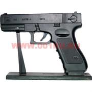Сувенирная Зажигалка пистолет Glock