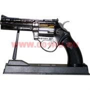 Зажигалка сувенирный Револьвер на подставке малый