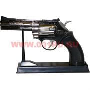 Зажигалка-сувенир Револьвер на подставке большой Python 357