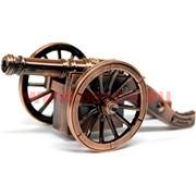 Зажигалка сувенирная настольная «Пушка» большая