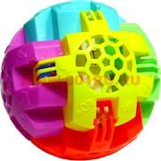 Игрушка с музыкой шар 12 см прыгающая