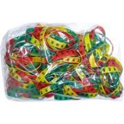 Браслеты силиконовые цветные с рисунками цена за 100 шт