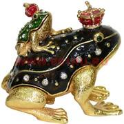 Шкатулка со стразами «Две жабки царевны» (1745)