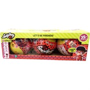 Игрушка кукла в шаре Ladybug цена за 3 шт