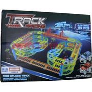 Игрушка Track Racing двухярусная с мостом 169 деталей