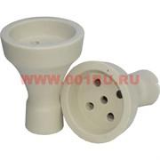 Чашка для кальяна RF белая глина