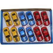 Машинки Kingsmart 3 цвета 12 шт/уп