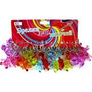 Брелок Мишка прозрачный цветной (KL-923) цена за 120 шт (1200 шт/кор)