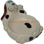 Пепельница керамическая «Расслабленная собака»