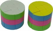 Кубик головоломка в виде цилиндра 67 мм 6 шт/уп