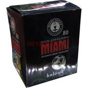 Уголь для кальяна Miami для калауда 80 шт