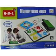 Магнитная игра 6-в-1 (QX5406A)