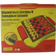 Шахматы и шашки магнитные (QX5480)