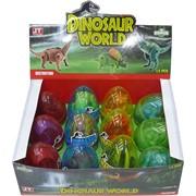 Трансформеры в яйце Dinosaur World 12 шт/уп