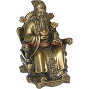 Бог Богатства с жезлом Жу И и слитком (G200-9)