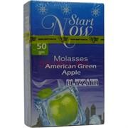 Start Now «American Green Apple Blizzard» 50 грамм табак для кальяна Старт Нау Иордания