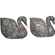 Лебедь из мраморного оникса 12 дюймов