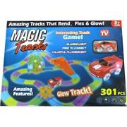 Игрушка с машинкой Magic Track 301 деталь светящаяся