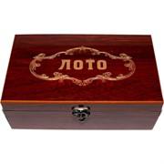 Лото деревянное в подарочной коробке