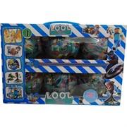 Игрушки в шаре LOOL для мальчиков цена за уп из 6 шт
