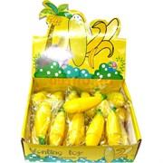 Игрушка «выдавливающийся банан» 24 шт/уп