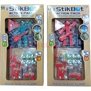 Набор роботов StikBot малый набор Life Styles