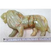 Лев 25 см, оникс (12 дюймов)