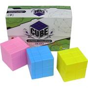 Игрушка головоломка Cube 3x3x3 одного цвета
