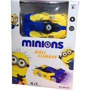Машинка Minions Wall Climber (ездит по стенам, потолку)