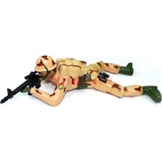 Игрушка Солдат ползающий большой
