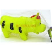 Корова игрушка со звуком резиновая