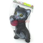 Котенок игрушка со звуком резиновая (913)